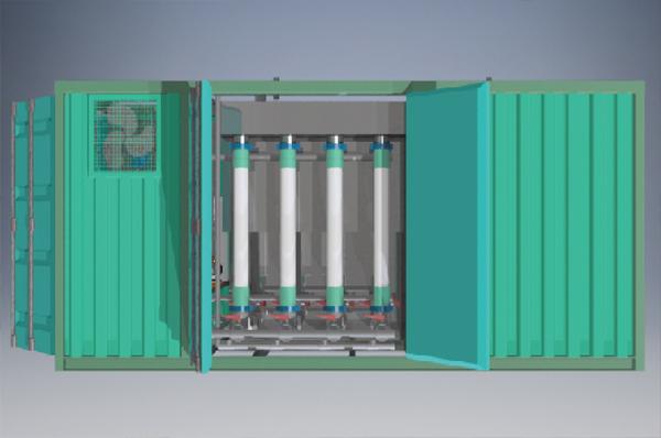 气提式管式膜集成设备